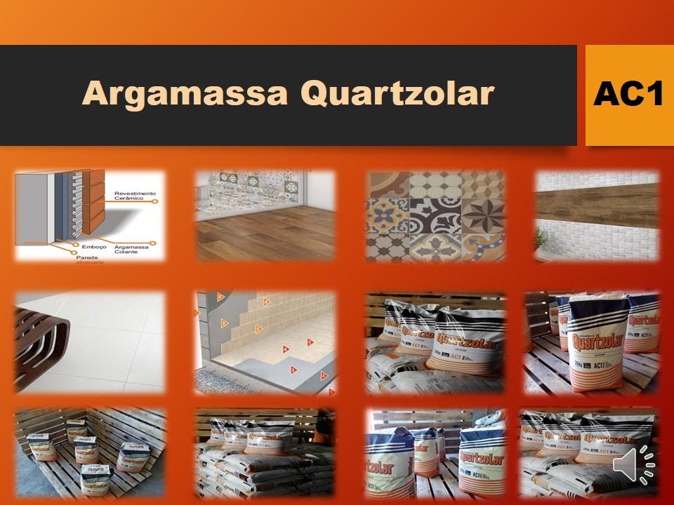 AC1 - ARGAMASSA COLANTE QUARTZOLAR