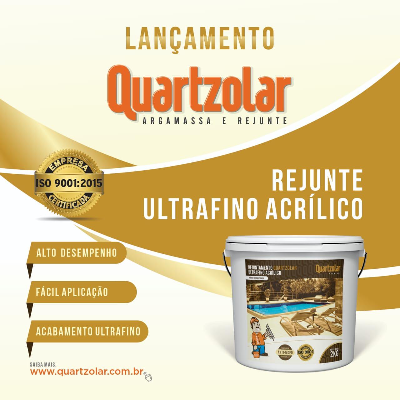 Lançamento Rejunte Ultrafino Acrílico